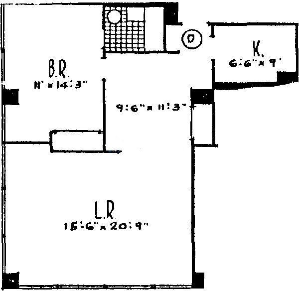 860 N Lake Shore Drive Floorplan - A, D, E, H Tiers