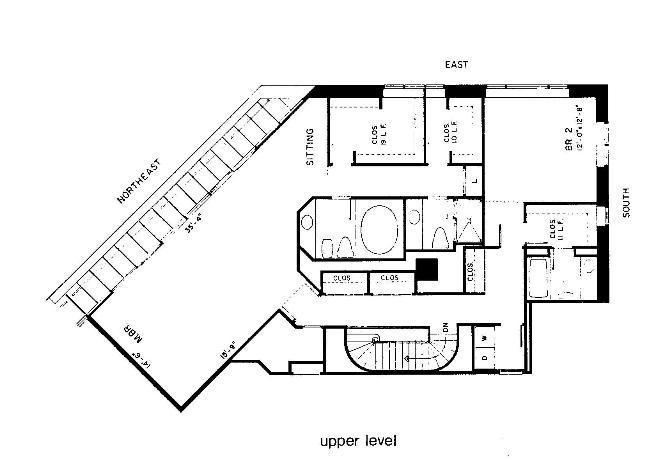 950 N Michigan Floorplan - C4 Tier