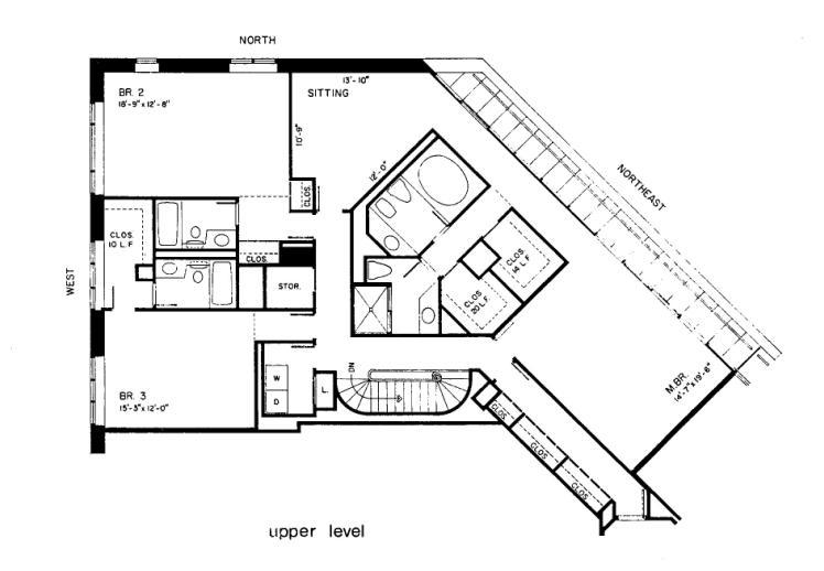 950 N Michigan Floorplan - 55D5* Tier