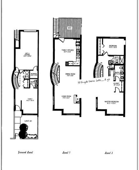 1632 S Indiana Floorplan - A Tier