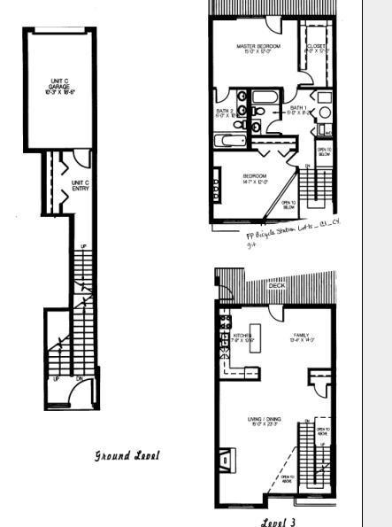 1632 S Indiana Floorplan - C1, C4 Tier