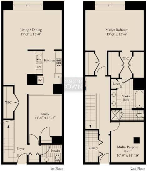 310 S. Michigan  Floorplan: 04 Tier*