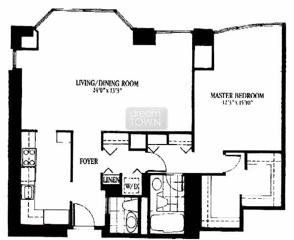Floorplans 100 E Huron Chicago Place
