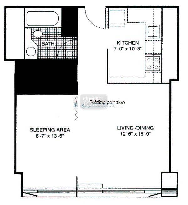 Floorplan: 211 E OHIO: THE GRAND OHIO