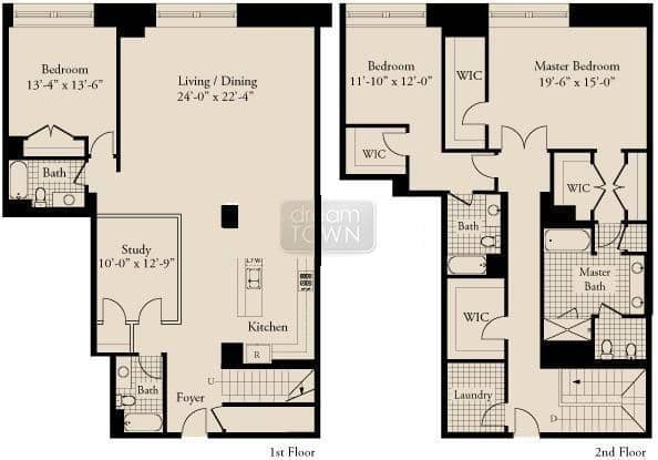 310 S. Michigan  Floorplan: 01 Tier*