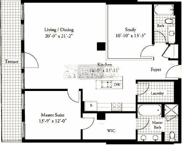 310 S. Michigan  Floorplan: 09 Tier*