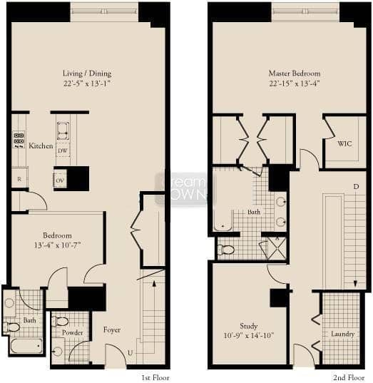 310 S. Michigan  Floorplan: 03 Tier*