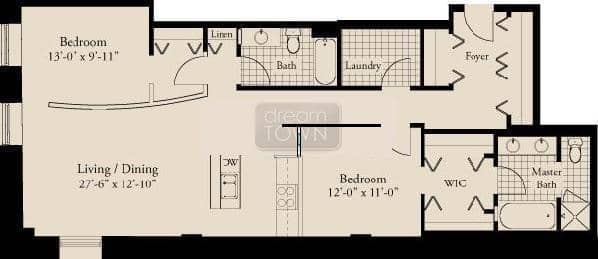310 S. Michigan  Floorplan: 09 Tier