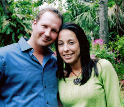 Alison Aviles and Jared Dunn
