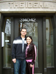 Andy Mohr and Nicole Goutos
