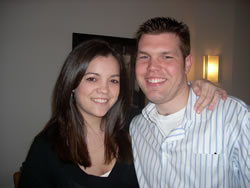 Kevin Reimer and April Toth
