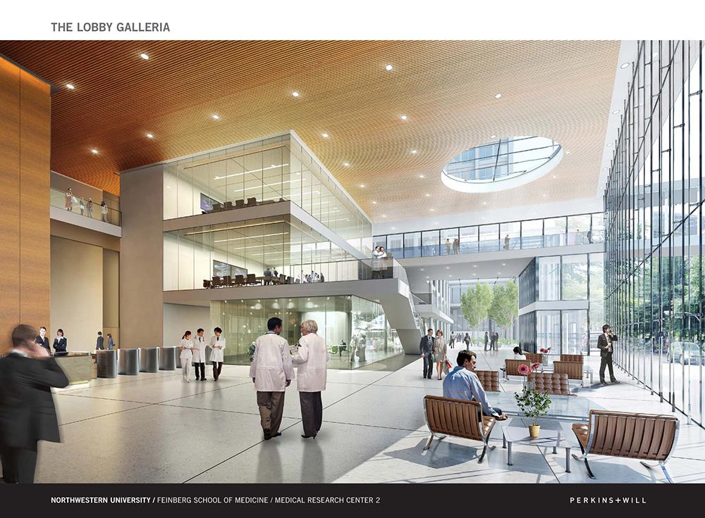 Perkins + Will Northwestern Biomedical Design